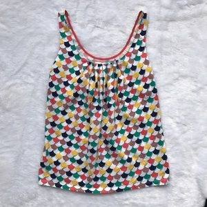 Boden Multicolored Tank Top
